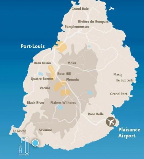 L'O des Flo : chambres d'hôtes à l'Île Maurice